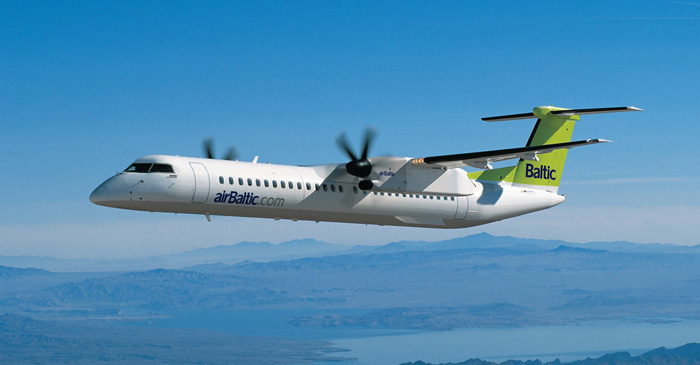 New ADS-B Out and LPV Solution Certified for Q400 Aircraft