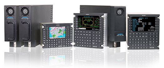 Universal Avionics FMS Family with LP/LPV Monitor