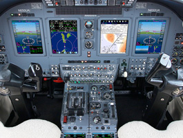Universal Avionics Receives TSOA for InSight® Display System