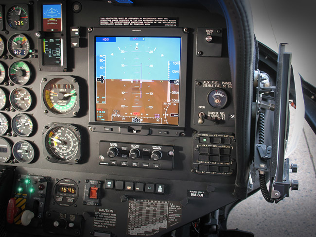 Ground Testing Complete for S-76B's with Universal Avionics Upgrade