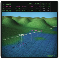 Nav Display with Vision-1® Exocentric     View