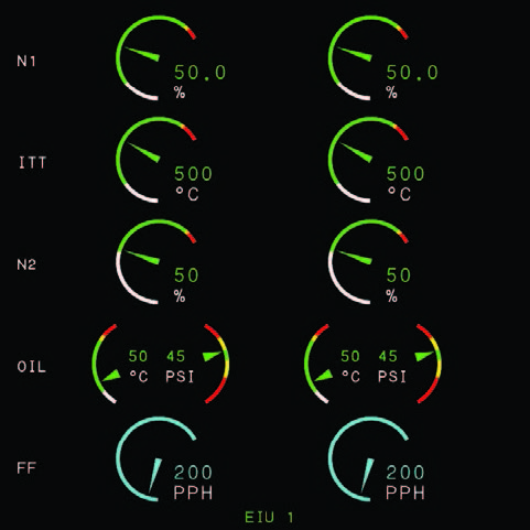 Digital Engine Display (available on certain models)