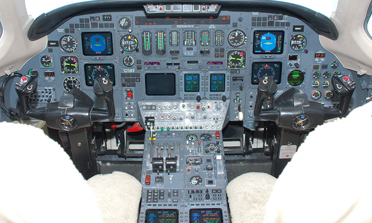 Citation Flight Deck