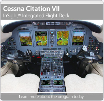 Cessna Citation VII with InSIght