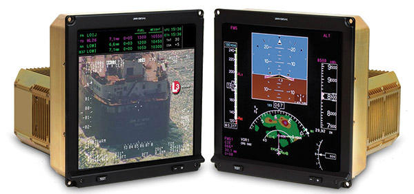 AS365 Dauphin Receives Universal Avionics Flight Deck Upgrade